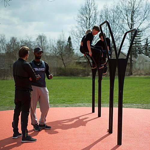 Udendørs fitnessredskaber træning i det fri Herning