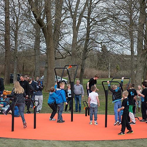 udendørs fitnessredskaber Herning træningoase træning i det fri