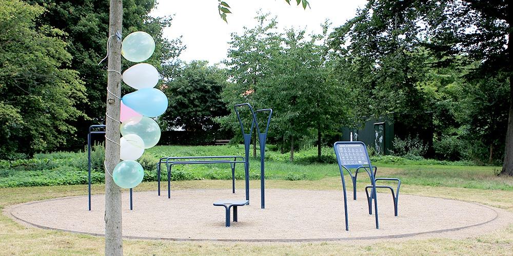 udendørs træningsredskaber gentofte træningspark