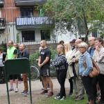 Borgmester Jørgen Glenthøj åbnede træningsparken i Frederiksberg