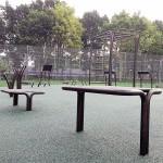 Gadehavegård træningspark udendørs træningsredskaber