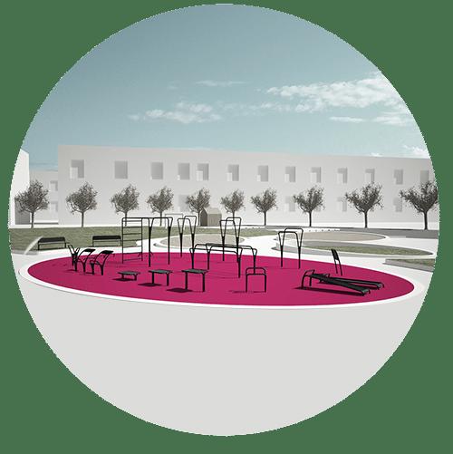 ideoplaeg udendørs træningspark