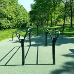 Udendørs træningspark fitnessredskaber Jyllinge