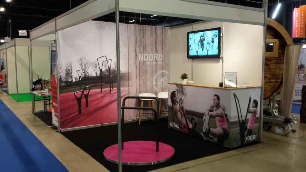 NOORD - Sports Fair 2015 - udendørs fitnesredskaber messe