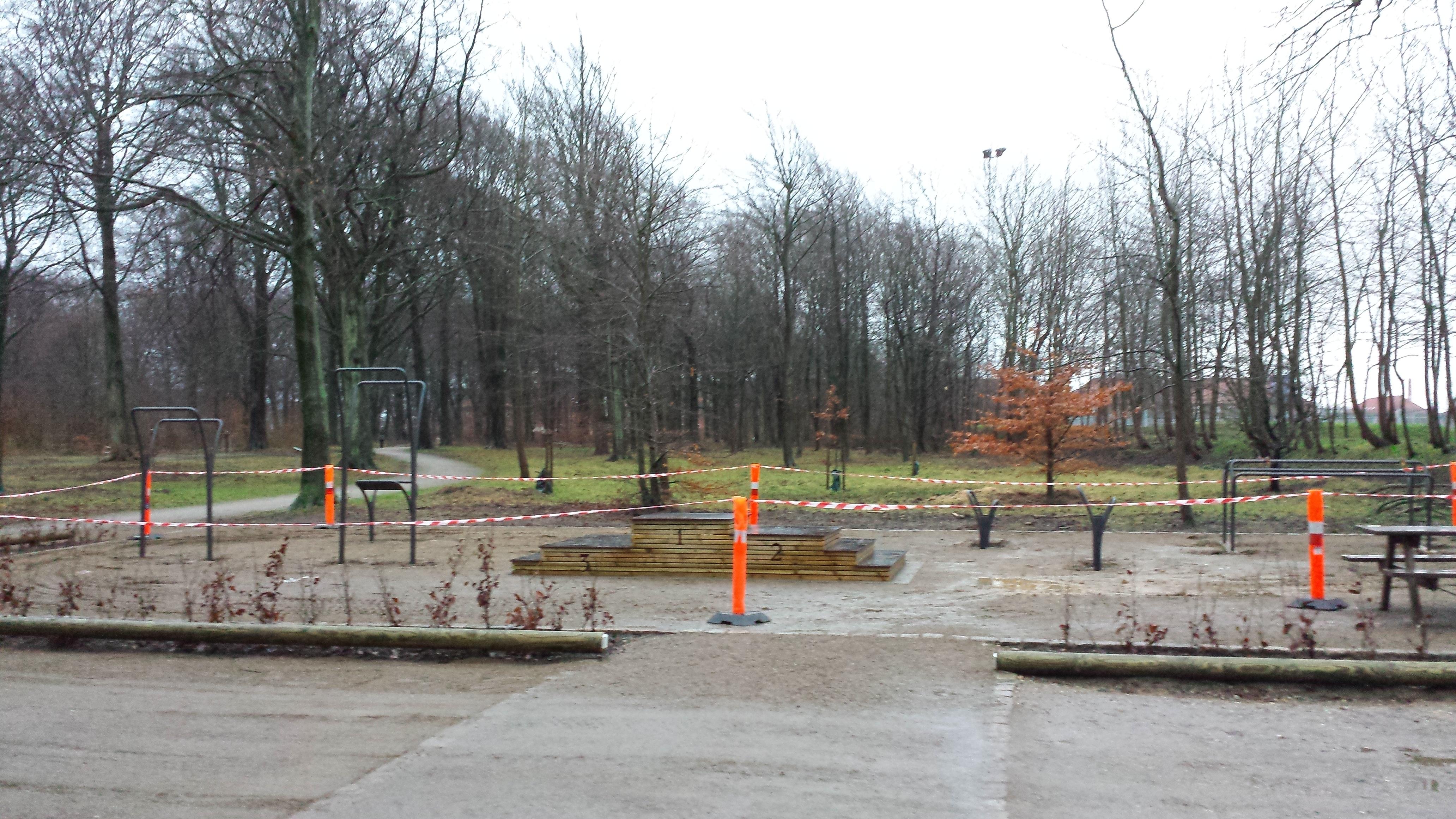 Udendørs fitness Esbjerg nyt trænings område