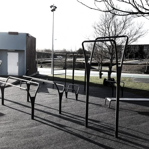 Esbjerg Udendørsfitness træningspark NOORD