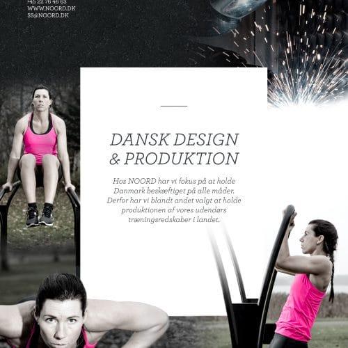 Dansk design dansk produktion - Noord - udendørs fitness og motion