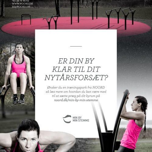 Min by min stemme - Noord - udendørs fitnes og motion træning