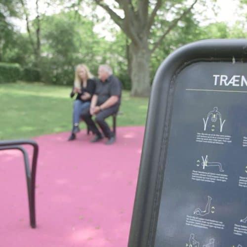 Sundhedsmagasinet NOORD udendørstræningsredskaber DR1