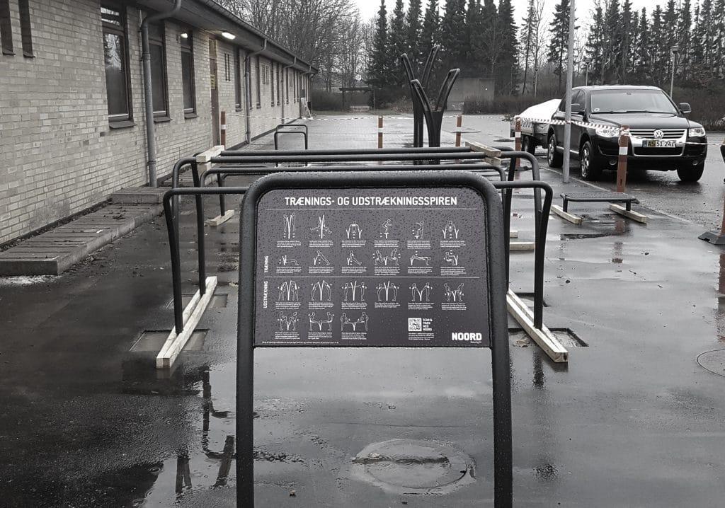 Tølløse - NOORD - Fitness - udendørs - Træning - Opstilling