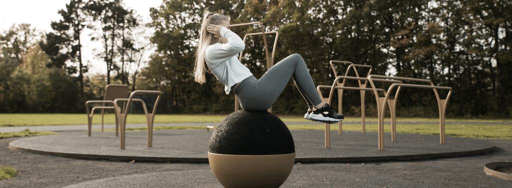 EPDM gummikugle udendørs træningsredskaber