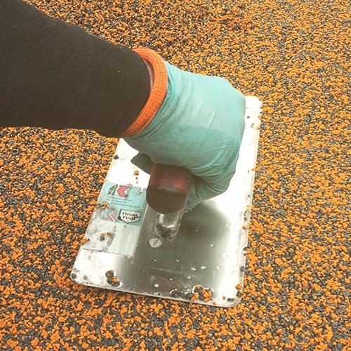 Vedligeholdelse og reparation af faldunderlag, gummibelægninger | se mere her