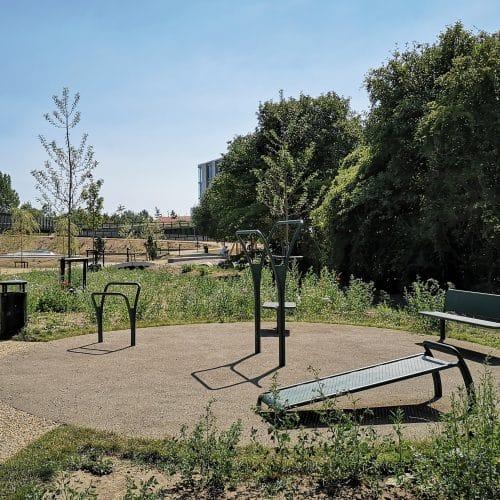 Frederiksberg kommune opstille det tredje noord fitness område