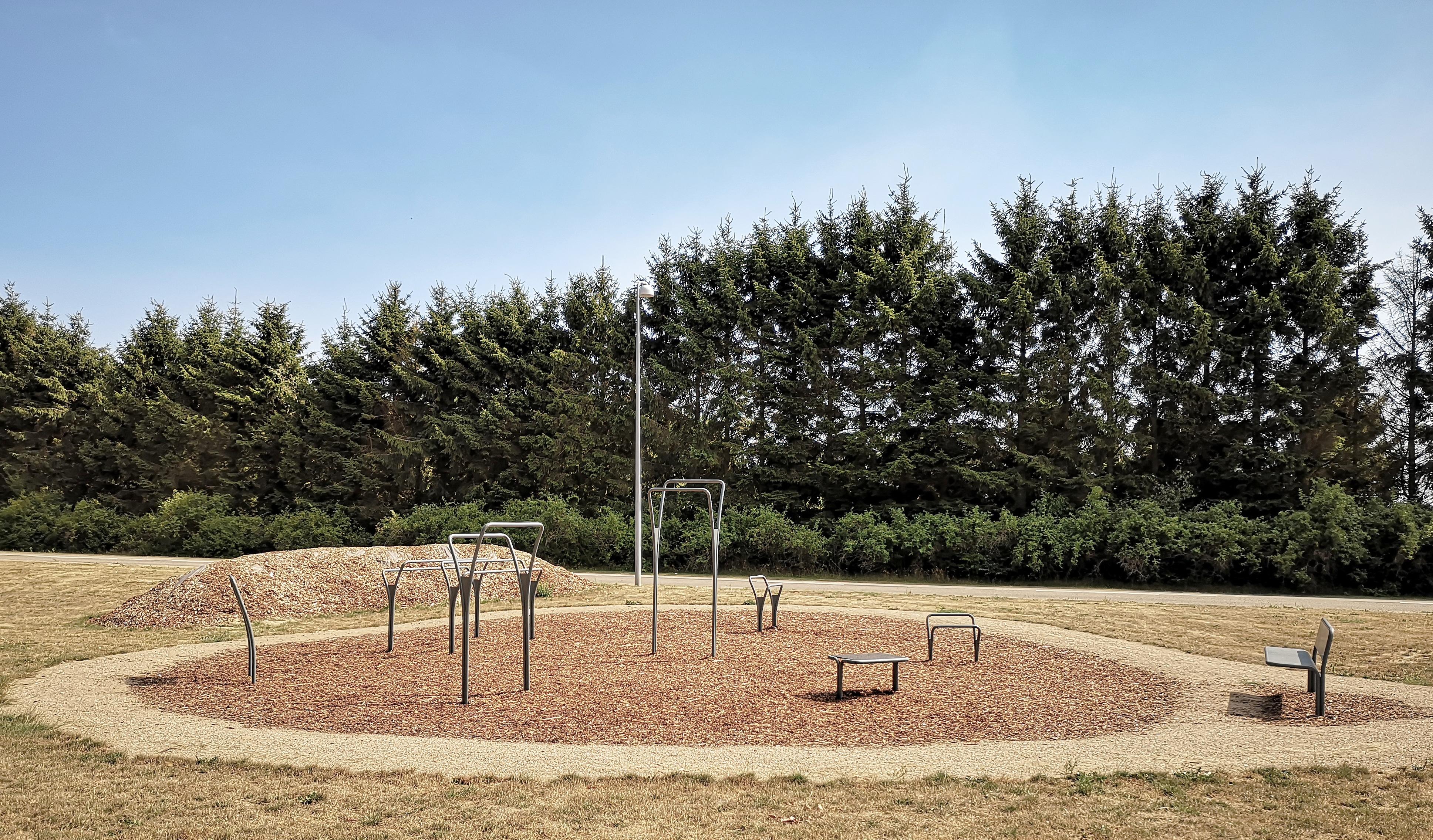 Træningsfaciliteter i Hårlev prisbevist træningspark til lokalsamfundet