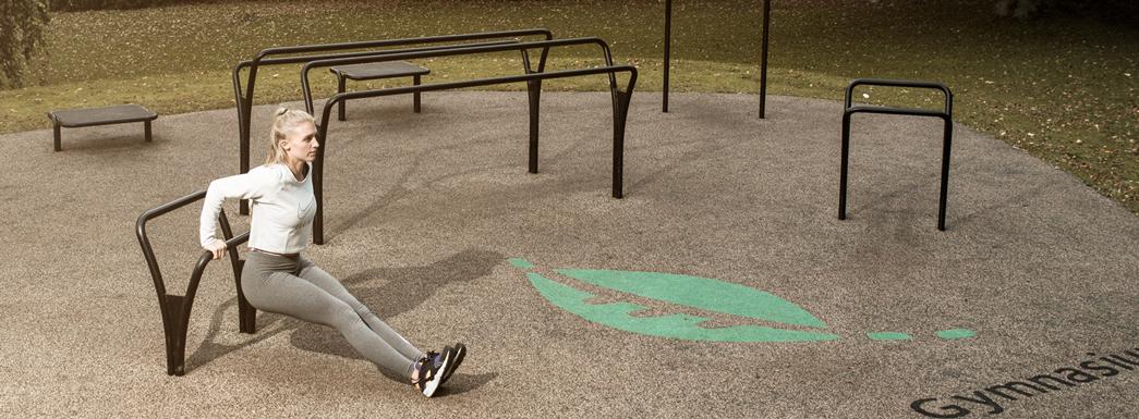 Udendoers-fitnesspark-til-traening-og-motion
