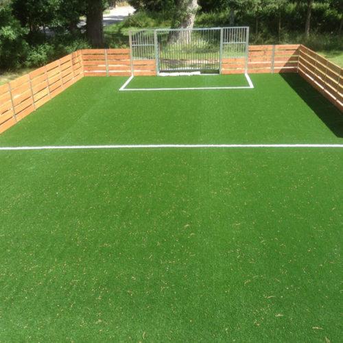 Lille kunstgræsbane til fodbold