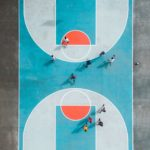 Crea street basketbane med asfaltmaling
